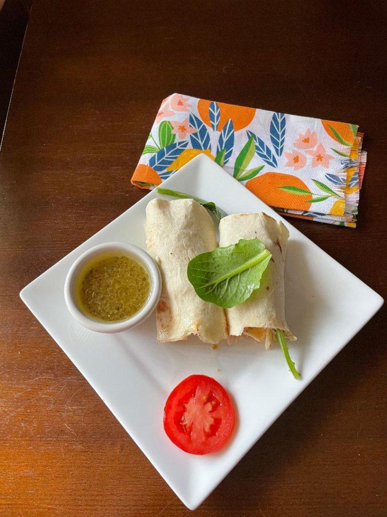 Chicken Roll Ups With Tortillas